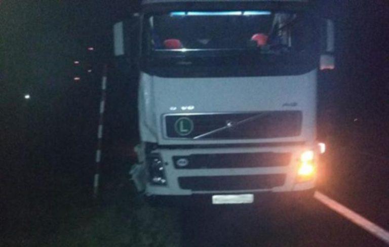 В Березенском районе фура насмерть сбила велосипедиста