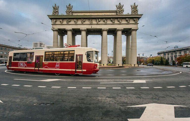 В Санкт-Петербурге тестируют водородный трамвай