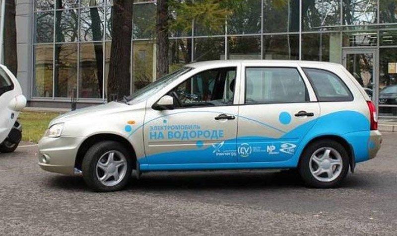 В России представили Lada Kalina на водороде