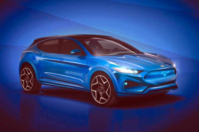 В сети показали новый электро-внедорожник от Ford