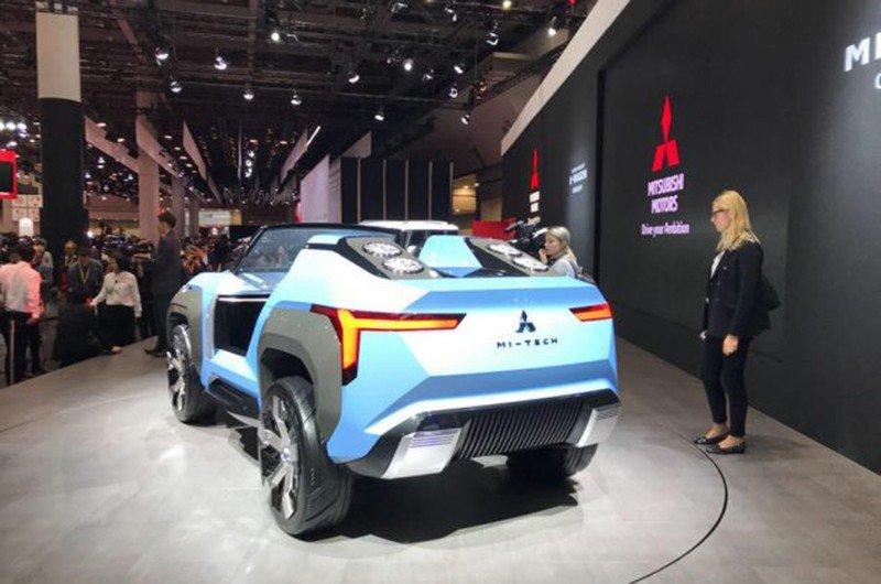 Mitsubishi представила концепт с газотурбинным двигателем