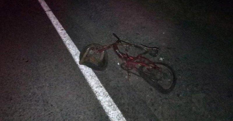Микроавтобус сбил насмерть 9-ти летнего велосипедиста
