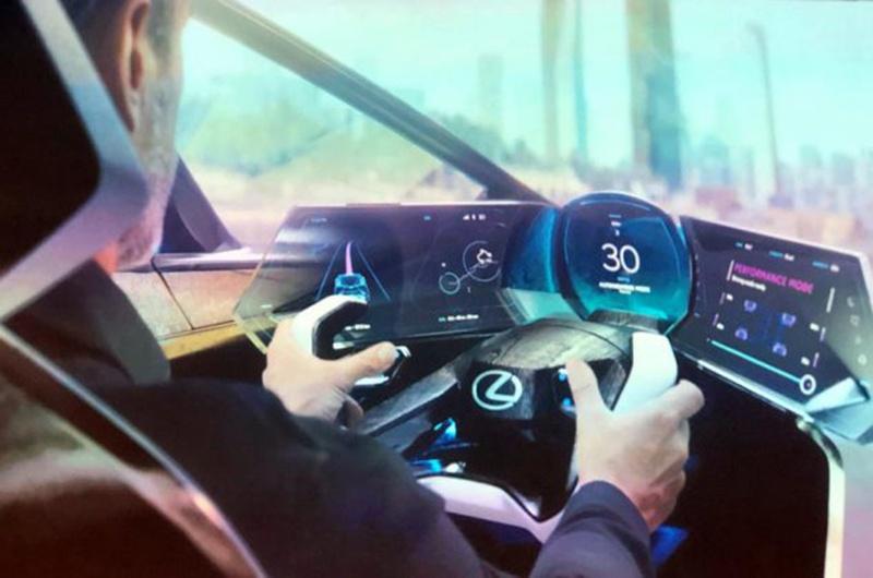Lexus показал соперника Jaguar I-Pace