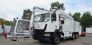 Машина для противообледенительной обработки воздушных судов МП11А24-СВВ