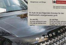 Экологи Германии принялись за владельцев кроссоверов и внедорожников
