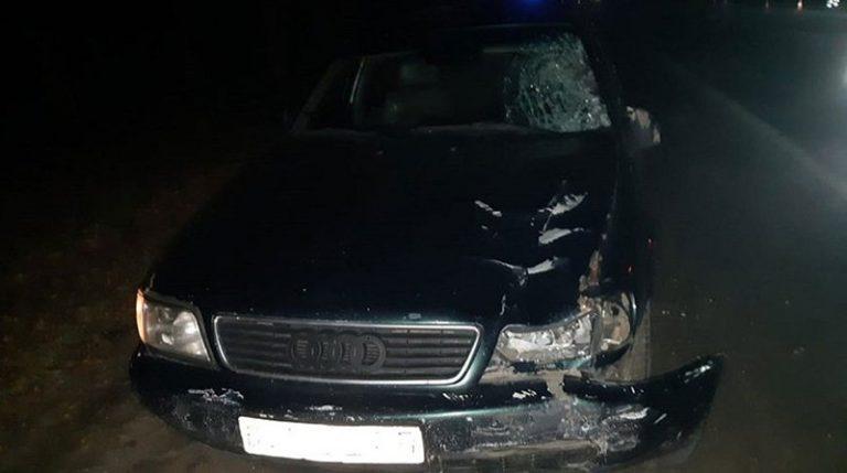В Смолевичском районе Audi насмерть сбила пешехода