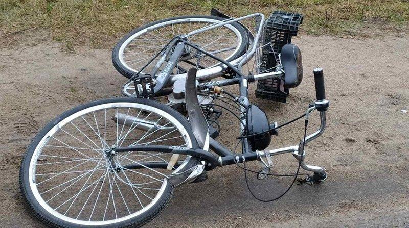 погиб пожилой велосипедист