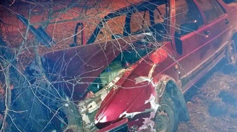 В Полоцке пьяная компания угнала авто и попала в ДТП
