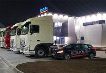 Дилер DAF открыл станцию автосервиса
