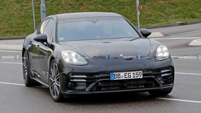 Обновленный Porsche Panamera