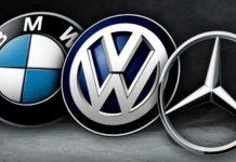 оштрафовали BMW, Volkswagen и Daimler