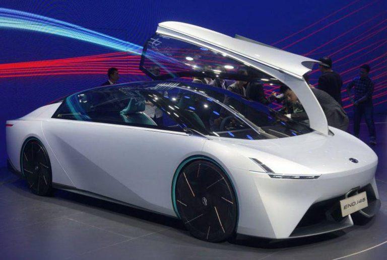 Китайцы в Гуанчжоу показали интересный концепт-кар Eno.146