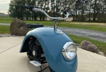 Американец смастерил мотоциклы из Volkswagen Beetle
