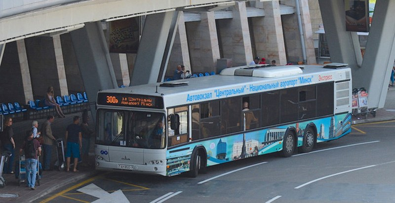 Транспорт до Национального аэропорта Минск