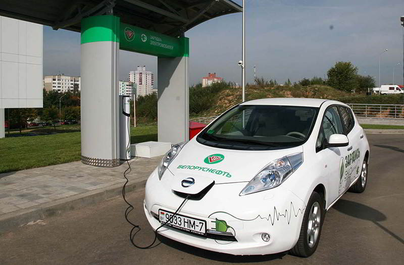 Количество зарядных станций для электромобилей в Беларуси в 2021 вырастет до 500