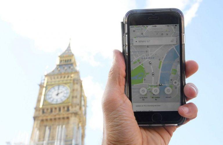Uber лишился лицензии на работу в Лондоне
