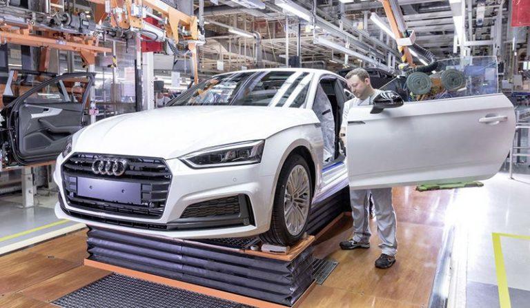 Audi сократит 9500 рабочих мест