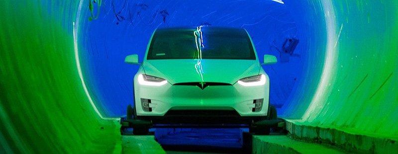Илон Маск приступил к строительству скоростного тоннеля