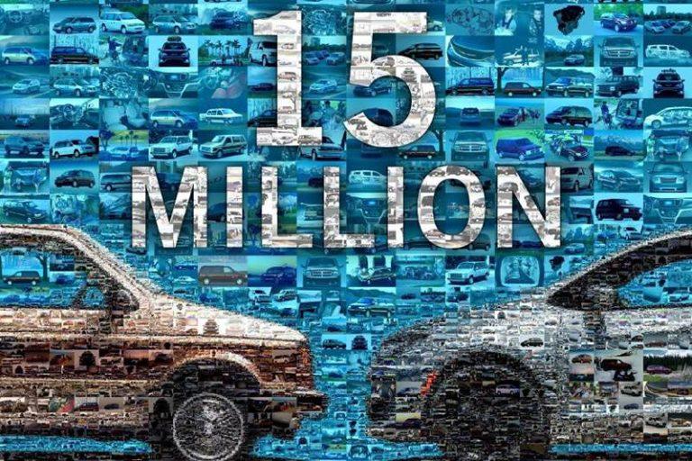 15 миллионов минивэнов Fiat Chrysler