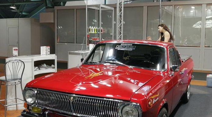 Арт-проект на шасси пикапа ГАЗ-24