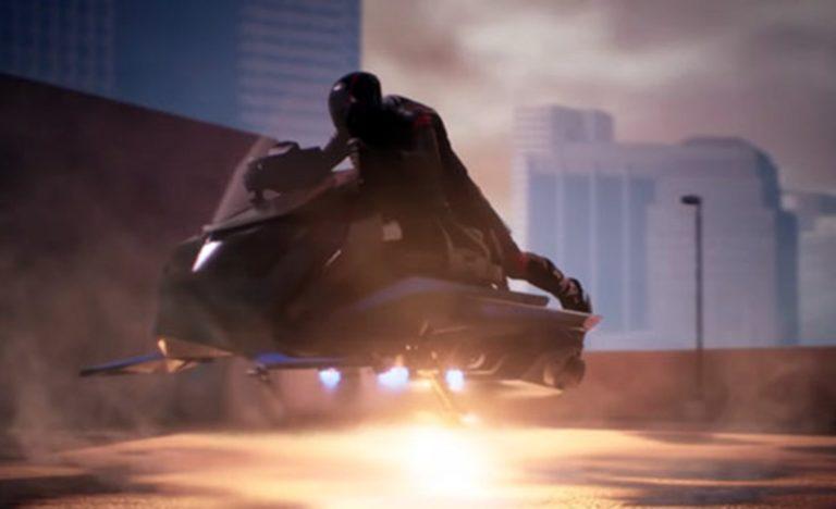 В США создают летающий мотоцикл