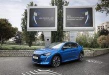 Peugeot научилась заряжать электромобили от городского шума