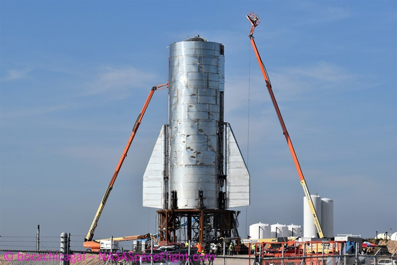 Прототип ракеты Starship Илона Маска