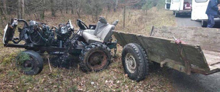 В Гродненском районе погиб водитель самодельного трактора