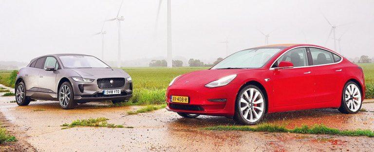 Jaguar I-Pace vs Tesla Model 3