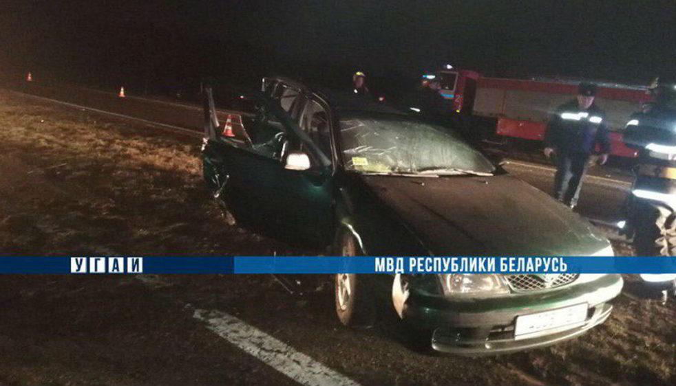 На М1 столкнулись два автомобиля. Погибла пассажирка