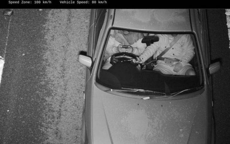 дорожные камеры, штрафующие за использование смартфона