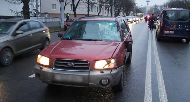 В Минске насмерть сбита пенсионерка