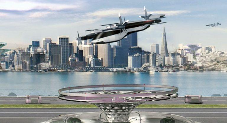 В январе Hyundai покажет прототип летающего автомобиля