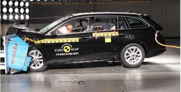 Новая Skoda Octavia прошла отлично краш-тест Euro NCAP