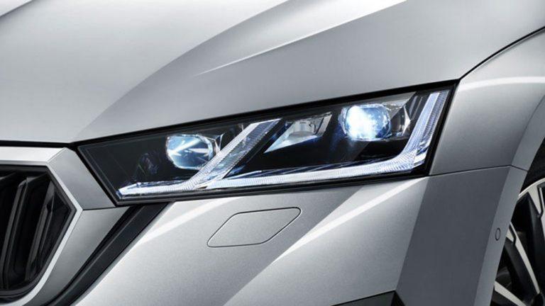 Все модели Skoda получат светодиодные фары