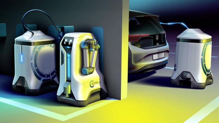 Volkswagen показал автономного робота