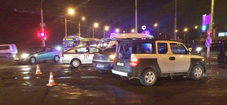 Беременная женщина пострадала в результате ДТП в Минске