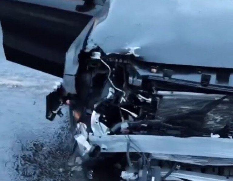 Сын Валерии попал в аварию по пути из Москвы в Санкт-Петербург