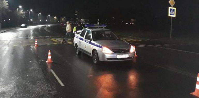 Служебный авто милиции сбил пешехода