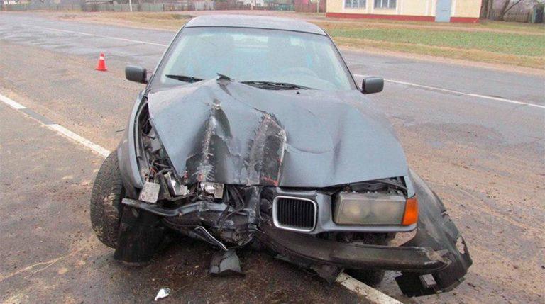 Три подростка угнали BMW