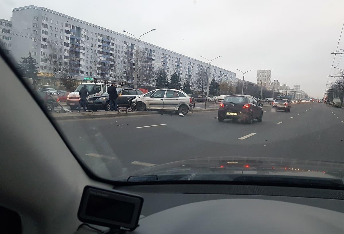ДТП в Серебрянке