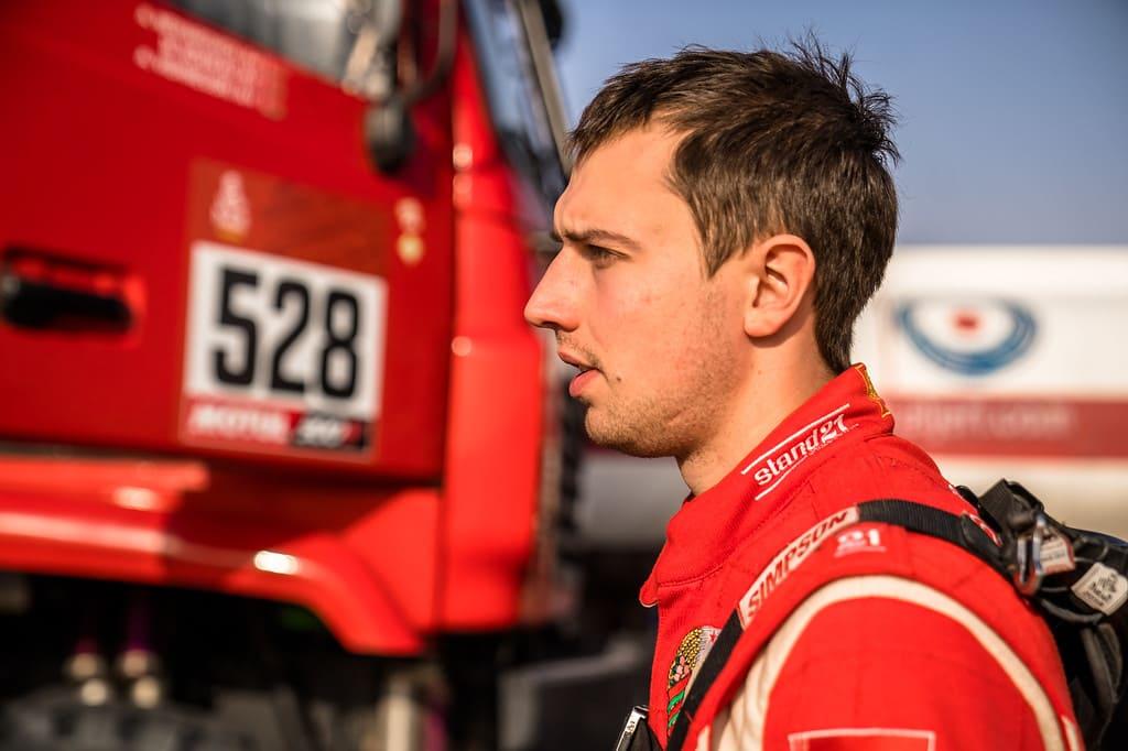 Алексей Вишневский- пилот команды МАЗ спорт авто