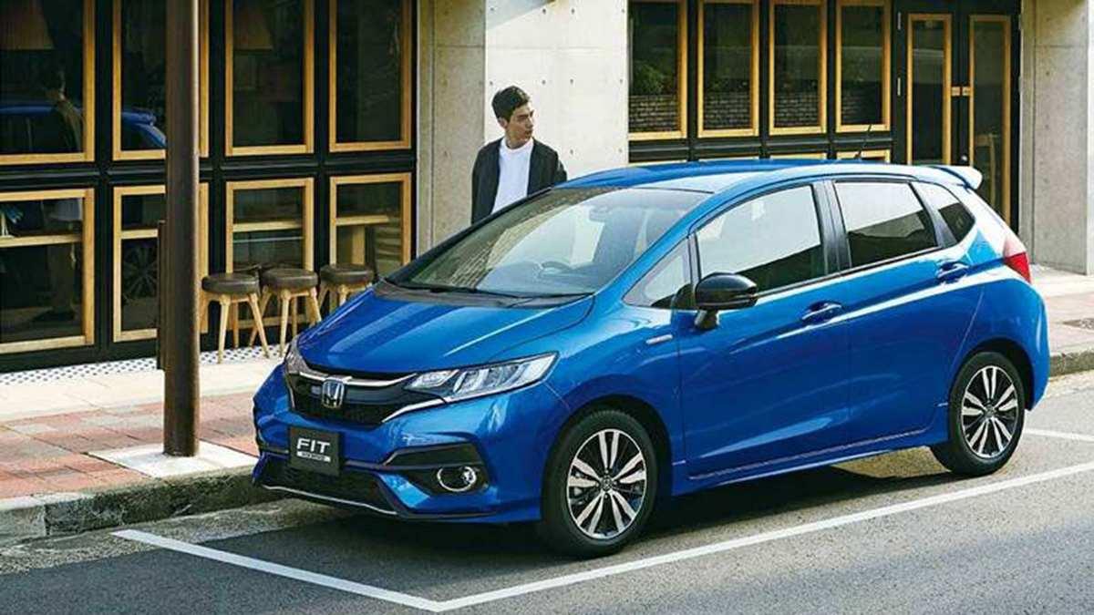 Honda рассекретила характеристики гибридного Jazz