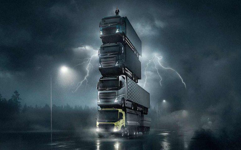 реклама Volvo