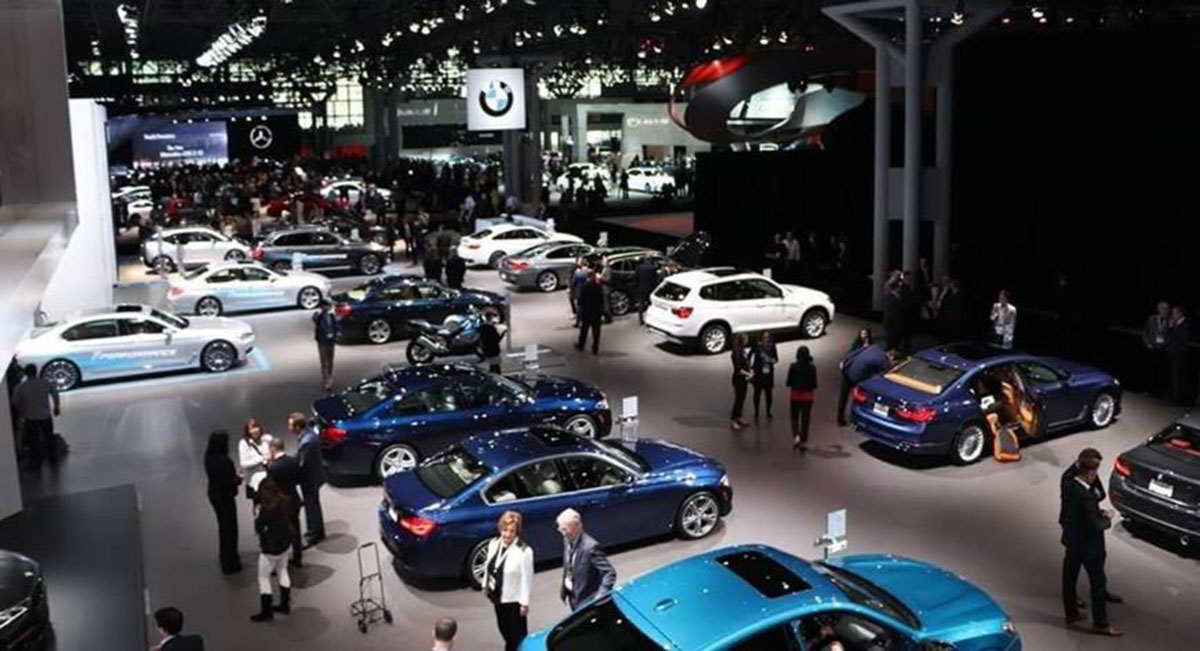 Автосалон в Нью-Йорке перенесен на август