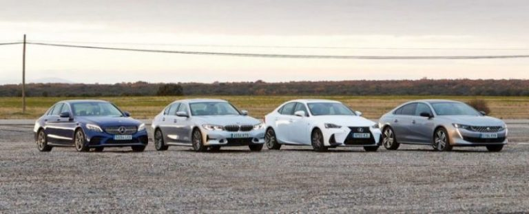 BMW 3, Lexus IS, Mercedes-Benz C и Peugeot 508: что выбрать?