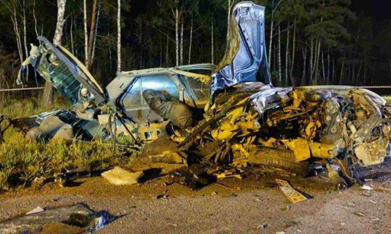 В результате ужасного лобового столкновения под Борисовом погибли 6 человек