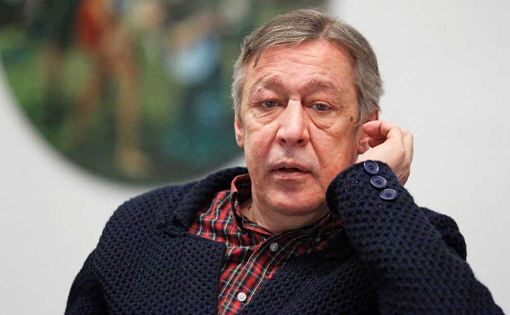 Актер Михаил Ефремов