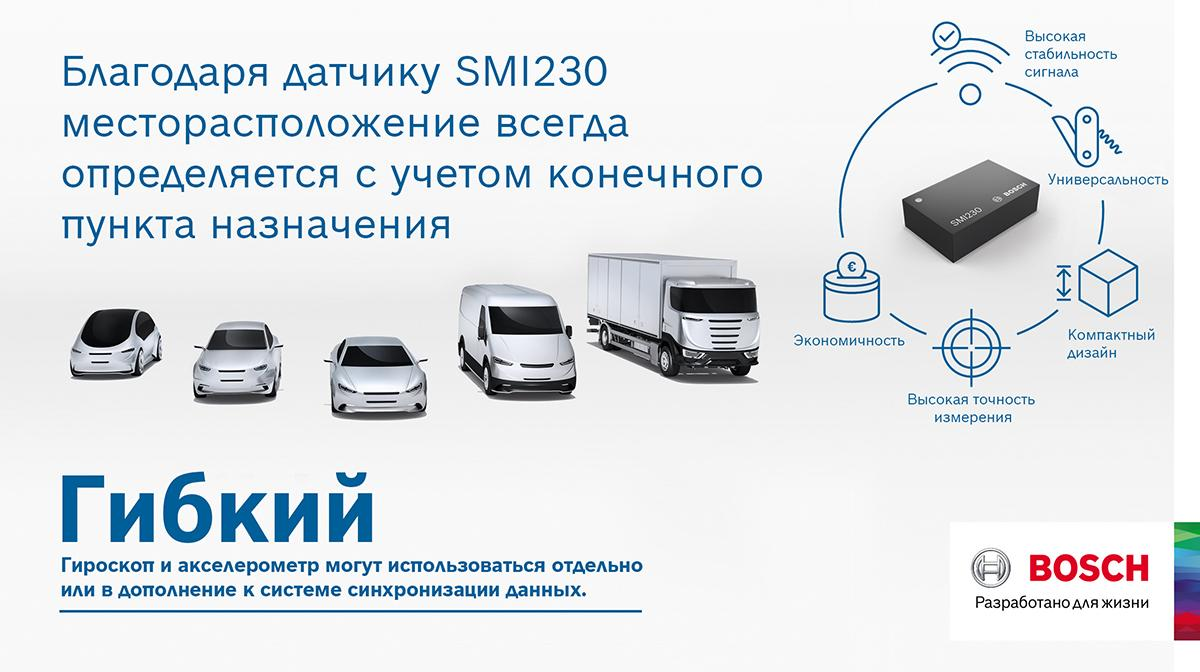 MEMS-датчики SMI230
