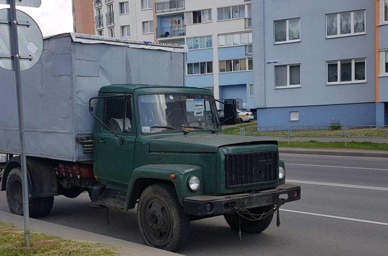 кража грузовика